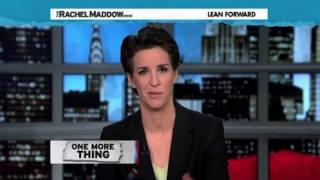 Republican From Fox News Apologizes To Rachel Maddow