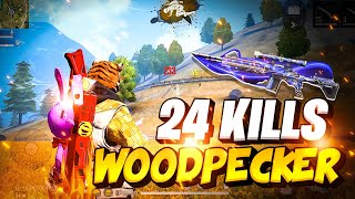 New WoodPecker Merciless High Rank Gameplay - Garena Free Fire