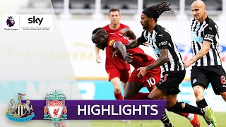 Mané macht den Robben | Newcastle United - FC Liverpool 1:3 | Highlights - Premier League