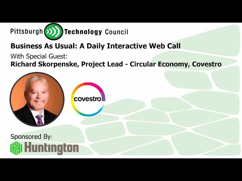 Covestro Talks About the Circular Economy Live on Business as Usual