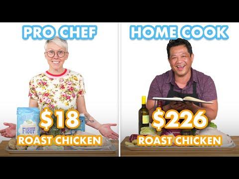 $226 vs $18 Roast Chicken: Pro Chef & Home Cook Swap Ingredients   Epicurious