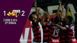 Gols | Criciúma 1-2 Atlético-GO - Série B 2016