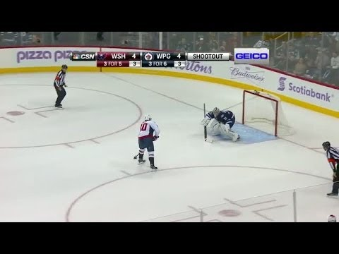 Shootout: Capitals vs Jets
