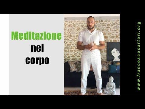 Meditazione nel corpo.