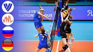 Russia vs Germany Full Match Women s VNL 2018