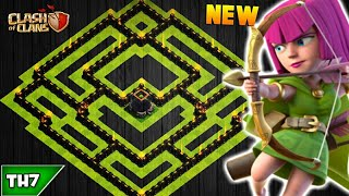 NEW TOWN HALL 7 FARMING/TROPHY BASE 2018! TH7 HYBRID BASE JANUARY UPDATED!! - CLASH OF CLANS(COC)
