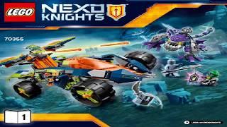 лего Рыцари Нексо 2017 Вездеход Аарона 4x4 LEGO Nexo Knights AARON'S ROCK CLIMBER 70355 #1