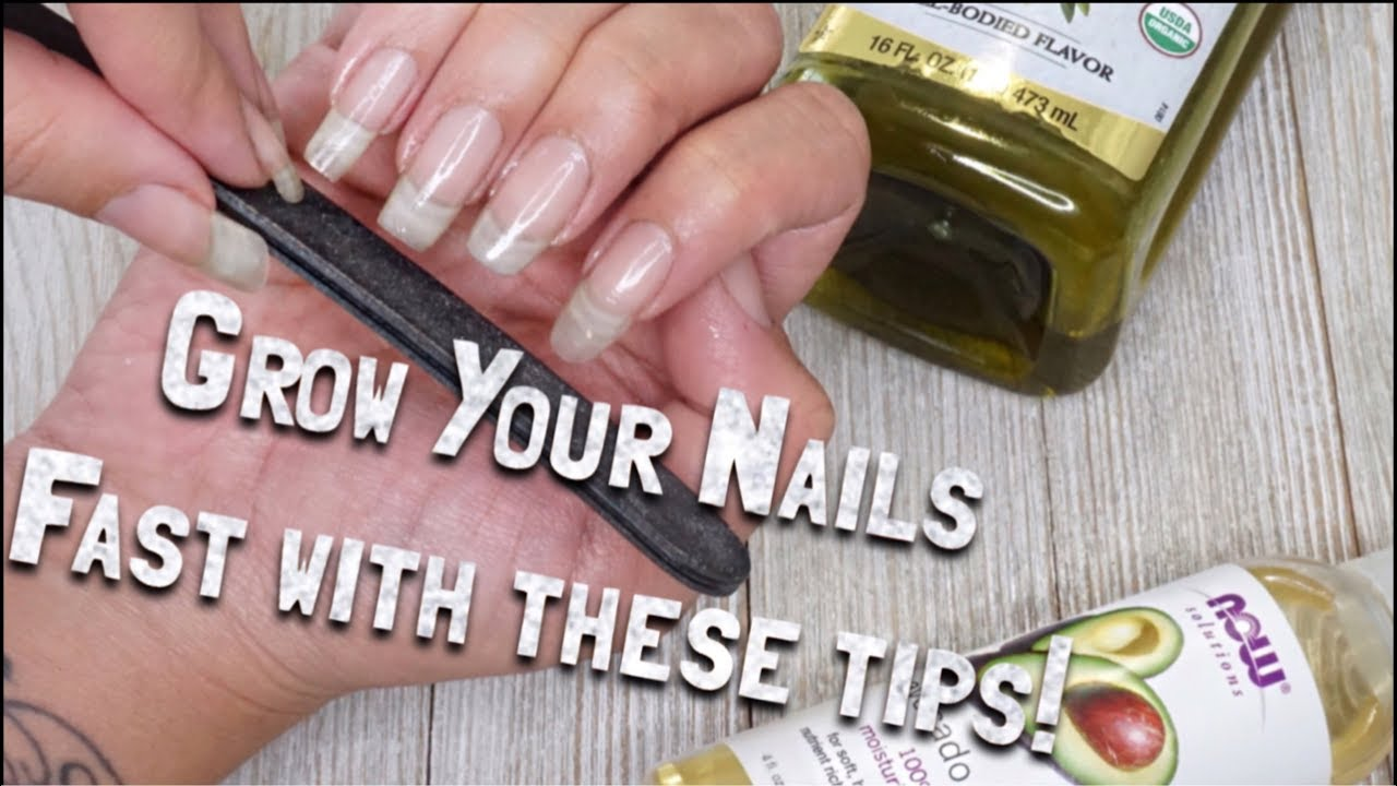How to Grow LONG STRONG Natural Nails FAST - YouTube