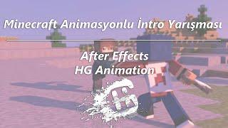 Dominating The Game Minecraft Animasyonlu İntro Yarışması |HG Animation|
