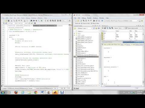 Error Control Coding Techniques Comparison EEL6509 Matlab Demo