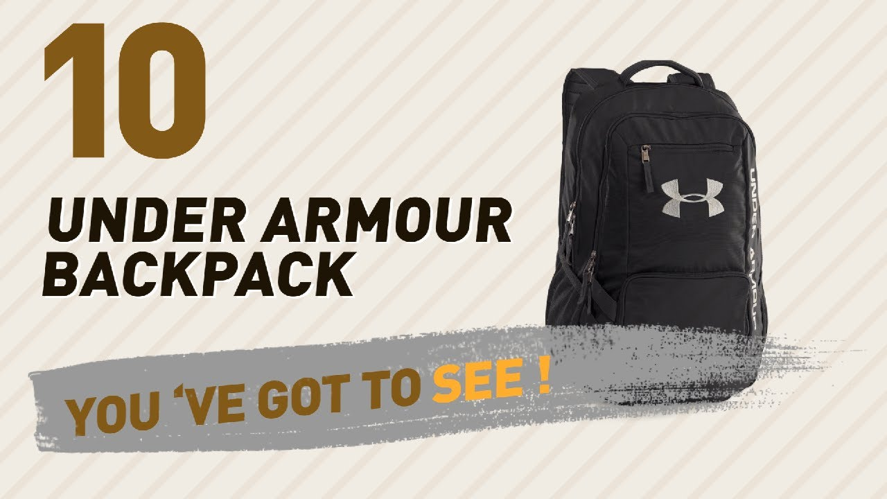 c468ebe29d83 Under Armour Backpack Great Collection