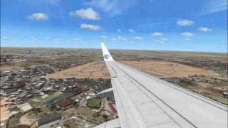 Egypt Air Boeing 737 Landing At Cairo Thumbnail