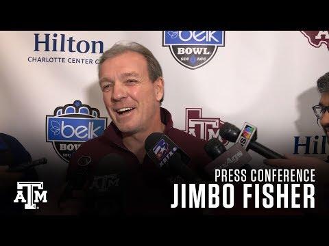 Jimbo Fisher Press Conference 12.28.17