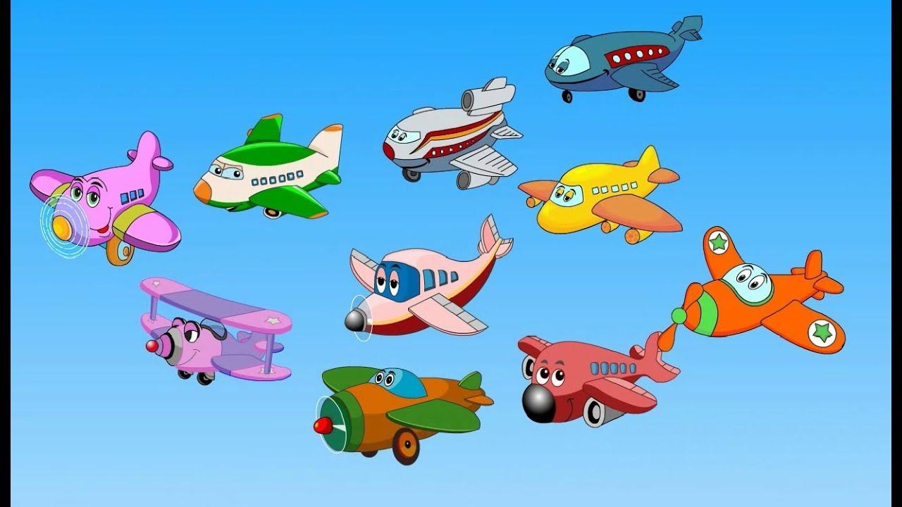 English Rhymes Rhymesenglish Wiktionary Edewcate English Rhymes Ten Little Aeroplanes Youtube