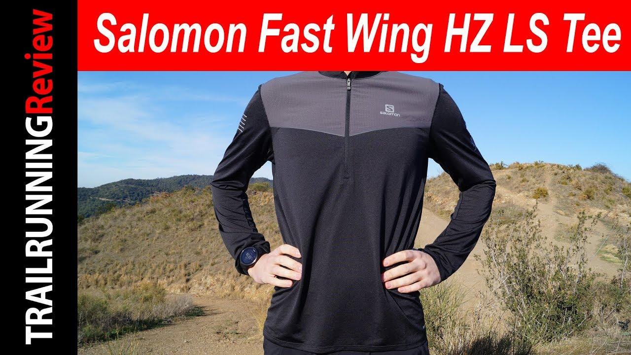 Salomon Fast Wing HZ LS Tee Review