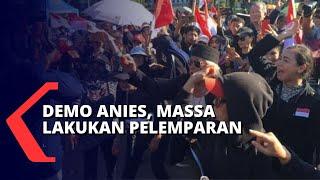 Demo Anies Baswedan, Sempat Terjadi Aksi Pelemparan di Sekitar Balai Kota