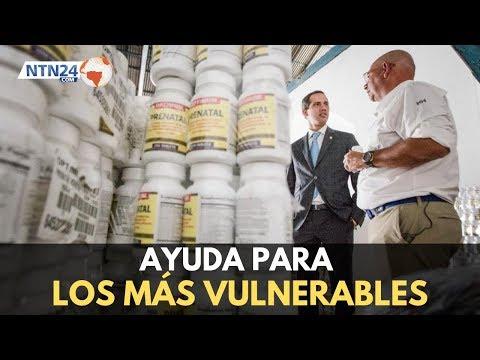 Guaidó anuncia entrega de cargamento con ayuda humanitaria a la Asociación de Centros de Salud