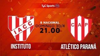 Institute vs Atletico Parana full match