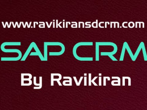 SAP CRM Functional Training - CRM Billing
