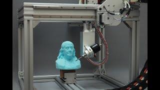 5AXISMAKER - CASE STUDY 01 / Sculpting a Bust