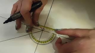 Наибольший угол разворота стоп (правая нога по часовой стрелке, левая - против часовой стрелки)