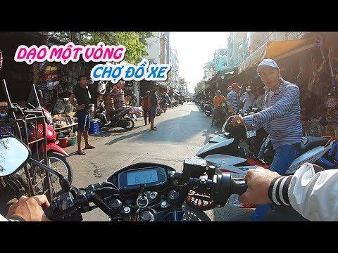 Dạo Chơi Chợ Tân Thành, Phụ Tùng Xe Máy Lớn Nhất Sài Gòn | Motovlog #2