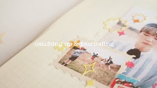 catching up & journaling ✷ (no music)