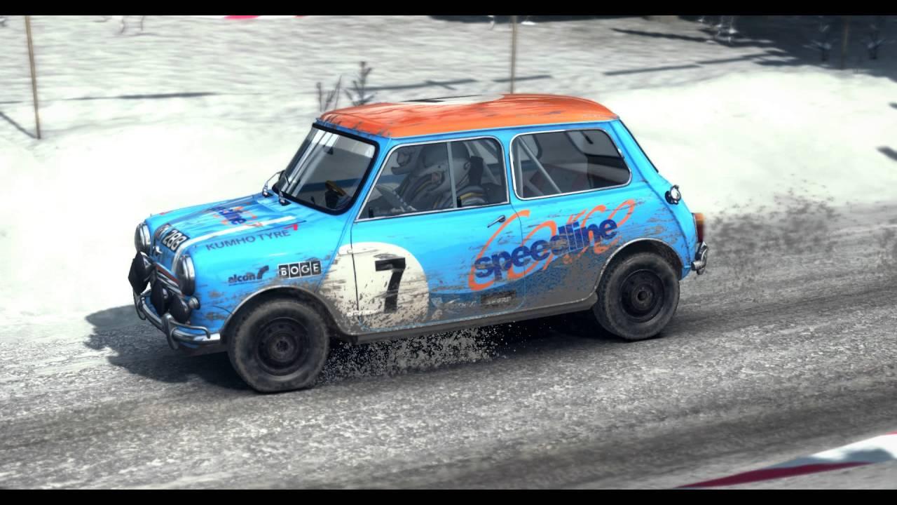 Old Mini rally - YouTube