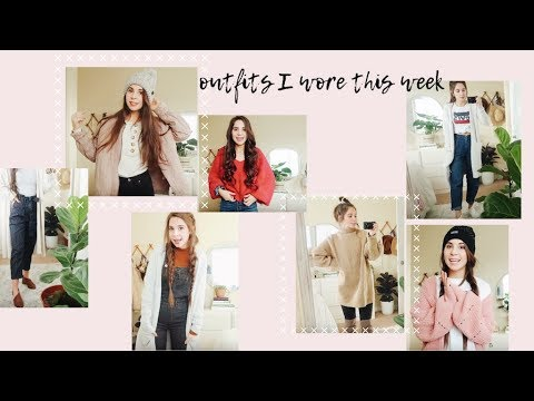 WINTER OOTW // cute, comfy, and warm outfits for winter 1
