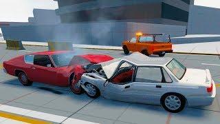 Страшные Аварии На Дороге ► Beamng Drive Краш Тест (Crash Test) 15 Серия