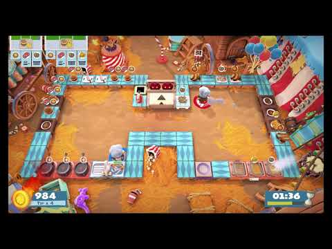 Overcooked 2 - Carnival of Chaos: Level 1-1 |