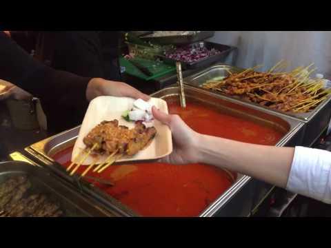 Best BBQ Satay Chicken From Malaysia London Street Food