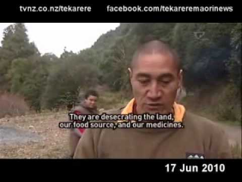 Tuhoe are against the use of 1080 Te Karere TVNZ 17 Jun 2010.wmv