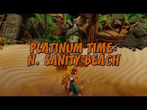N. Sanity Beach Platinum Time