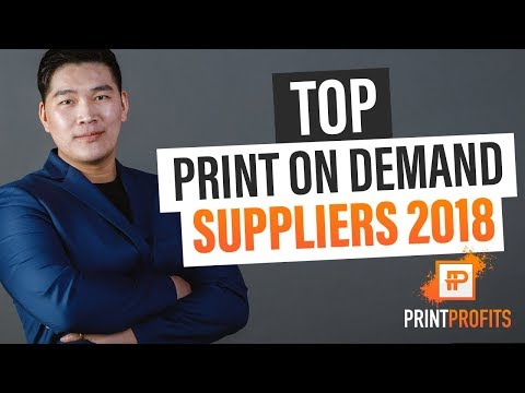 Top Print On Demand Suppliers 2018