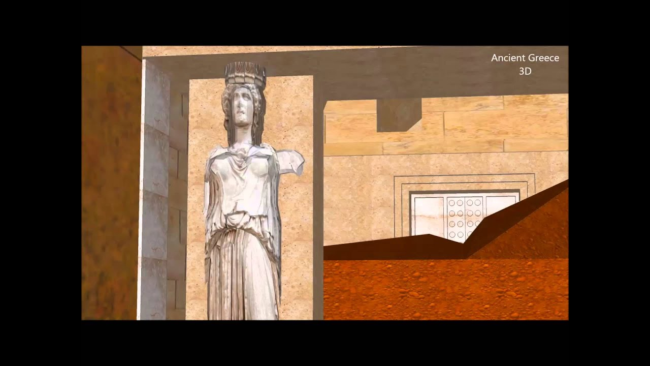 Ancient Greece 3D - Tomb of Amphipolis, Greece - HD