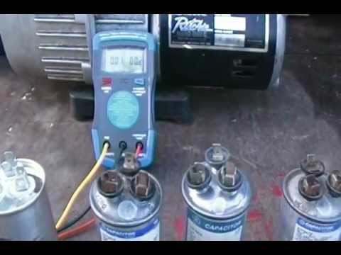 How To Fix A C Air Conditioner Bad Capacitor No Air