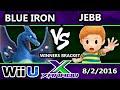S@X 161 - BlueIron (Charizard) Vs. AoH   JeBB (Lucas, Cloud) SSB4 Tournament - Smash Wii U - Smash 4