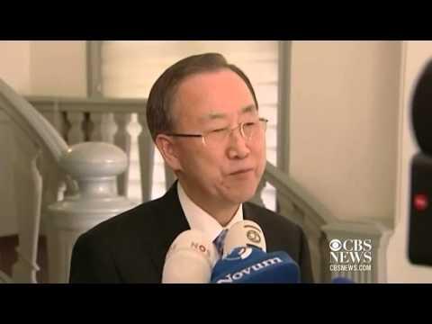 Ban Ki-moon reacts to Margaret Thatcher's passing