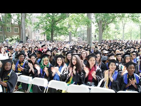 Wellesley College Commencement 2015