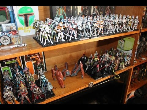 Star Wars Figure Mega Haul 3 The Real Clone Army Youtube