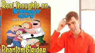 PhantomStrider's real thoughts on: Family Guy Season 15