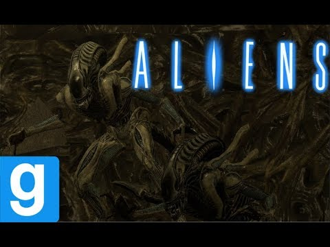 ALIENS Xenomorph Hive NPC Battle Soldiers Garry's Mod