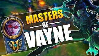 MASTERS OF VAYNE - INSANE 1V5 PENTAKILLS MONTAGE - League of Legends