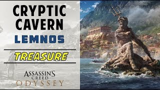 Cryptic Cavern, Lemnos | Loot Treasure Location | ASSASSIN'S CREED ODYSSEY