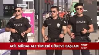 İstanbul Havalimanı Acil Müdahale Timleri Görev Başında