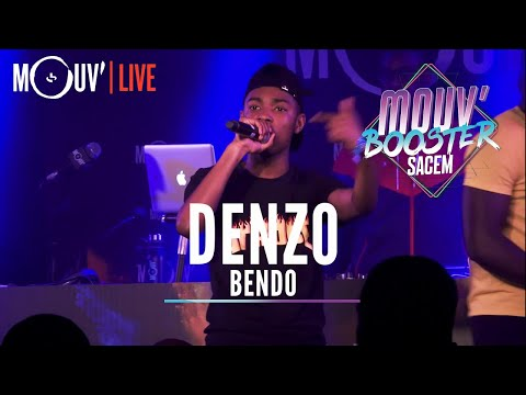 Youtube: DENZO : « Bendo » (Live @Mouv' Booster Sacem)