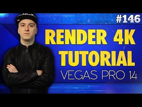 Vegas Pro 14: How To Render In 4K Resolution - Tutorial #146