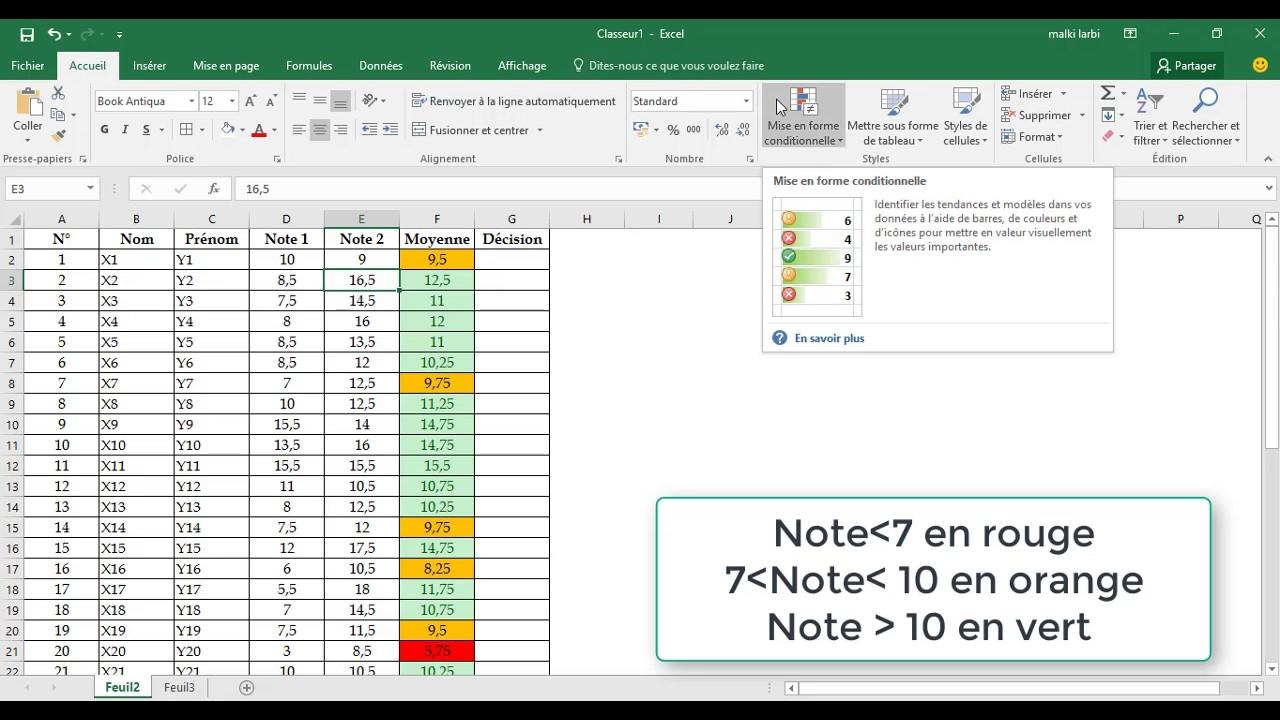 Exercice 2 mise en forme conditionnelle et la fonction si youtube exercice 2 mise en forme conditionnelle et la fonction si ccuart Choice Image