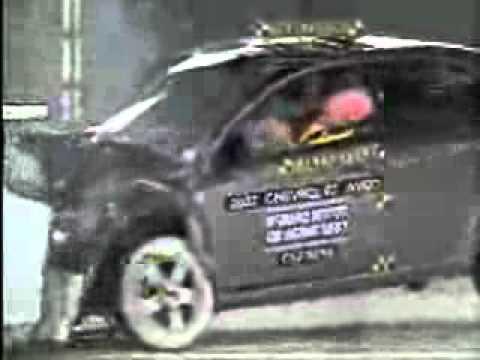 Chevrolet Aveo Crash Test Youtube